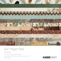 "Kaisercraft Pad 6.5""X6.5"" Anthology"
