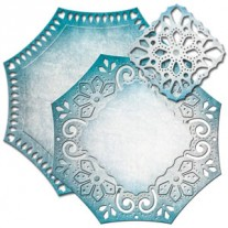 Spellbinders Nestabilities Labels 46  Decorative Element