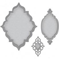 Spellbinders Nestabilities Label 56 Decorative Element