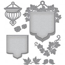 Spellbinders Shapeabilities Beautiful Banner Basket