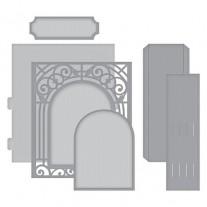 Spellbinders Shapeabilities Grand Arch 3D Card