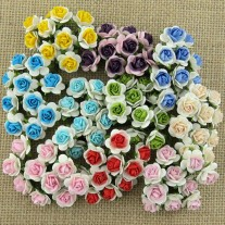 WOC Mulberry paper Roses mixtes 2 tons