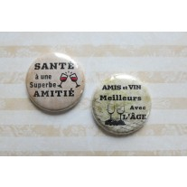 Herazz Badges Santé Amitié