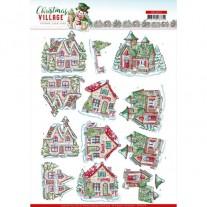 Yvonne Creations 3D Images Village de Noël