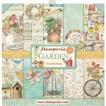 "Stamperia Ensemble 12"" x 12"" Jardin"