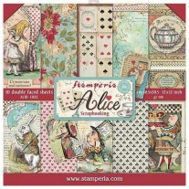 "Stamperia Ensemble 12"" x 12"" Alice"