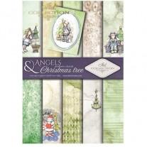 ITD Collection Pad 210 x 297 mm - Anges & Arbres de Noël
