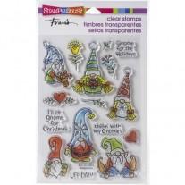 Étampe acrylique Stampendous Gnomes