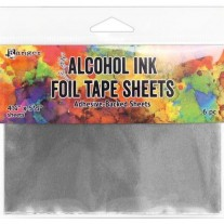 "Tim Holtz Alcohol Ink Feuilles Foil Tape 4.25"" x 5.5"""