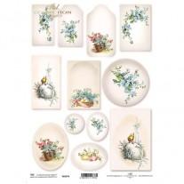 ITD Collection Étiquettes Florales