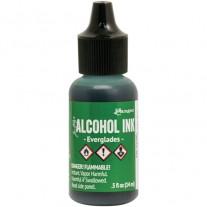 Alcohol Ink Everglades