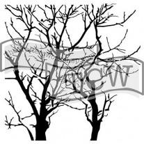 """Masque Branches inversées 6""""X6"""""""