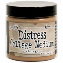 Tim Holtz Distress Collage Medium Vintage