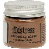 Distress Embossing Glaze Vintage Photo