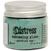 Distress Embossing Glaze Speckled Egg
