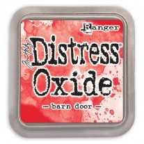 Distress Oxide Ink Barn Door
