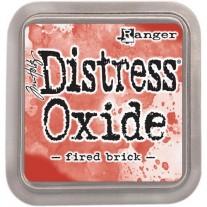 Distress Oxide Ink Fired Brick