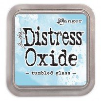 Distress Oxide Ink Tumbled Glass