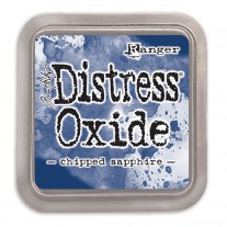 Distress Oxide Ink Chipped Sapphire