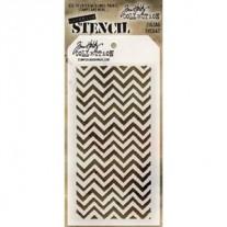 Tim Holtz Stencil Zigzag