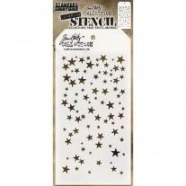 Tim Holtz Stencil Falling Stars