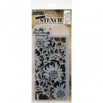 Tim Holtz Stencil Bouquet