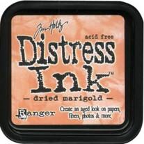 Distress Ink Dried Marigold