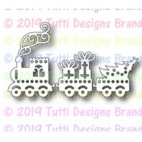 Tutti Designs Die Train de Noël