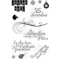 Simple à Souhait Étampe Joyeux Noël 2