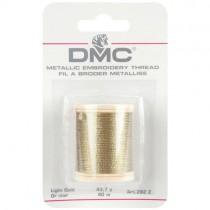 Fil à broder métallique or