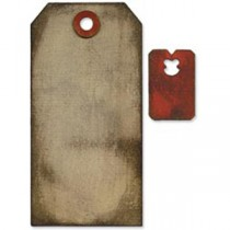 Sizzix Movers & Shapers Die - Tag & Tie