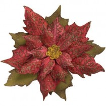 Sizzix Bigz Die & Plaque embossage Tattered Poinsettia