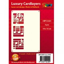 Card Layer Note Mucicale 1 Ivoire