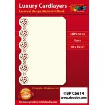 Card Layer Bordure Orientale Ivoire
