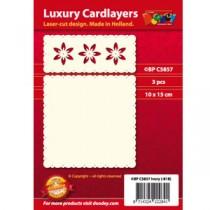 Card Layer Diptich Blanc
