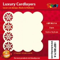 Card Layer Hivernal Ivoire