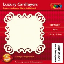 Card Layer Baroque Ivoire