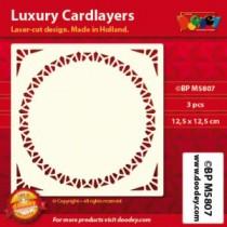 Card Layer Carré Ivoire