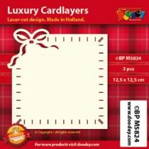 Card Layer Ruban Ivoire