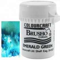 Brusho Crystal Colour Vert Émeraude