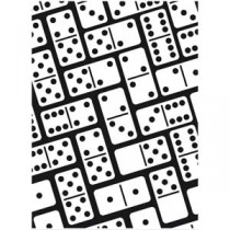 Plaque Embossage Domino