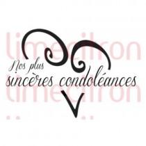 Limecitron Étampe Condoleances