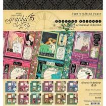 "Graphic 45 Pad 8"" X 8"" Fashion Forward"