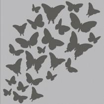 Simple Stories Masque 6 X 6 pouces Jolis Papillons