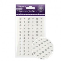 Hunkydory Crafts Cristaux scintillants argent