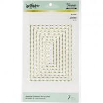 Spellbinders Glimmer Hot Foil Plate Rectangles
