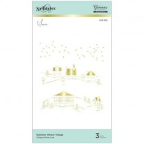 Spellbinders Glimmer Hot Foil Village hivernal
