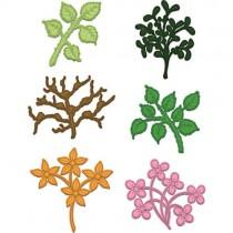 Heartfelt Creations Dies Plantes pour boîte à fleurs