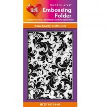 Hearty Crafts Plaque Embossage Flourish