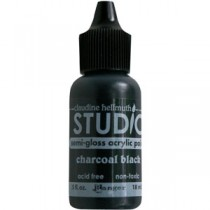 Claudine Hellmuth Mini Paints Charcoal Black